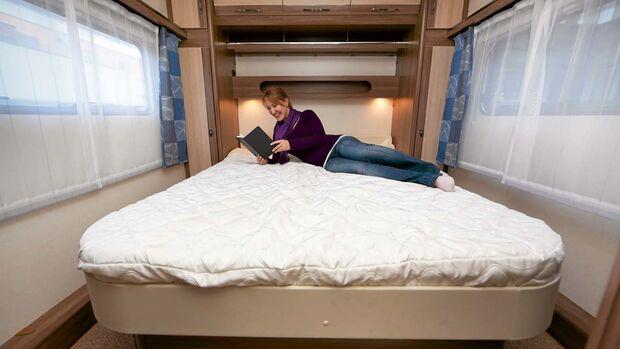 Guter Schlaf ist die halbe Miete für einen erholsamen Urlaub.
