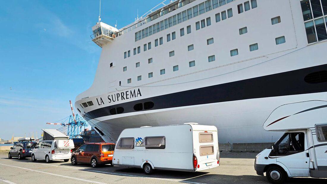Hafen La Suprema von GNV Wohnmobil