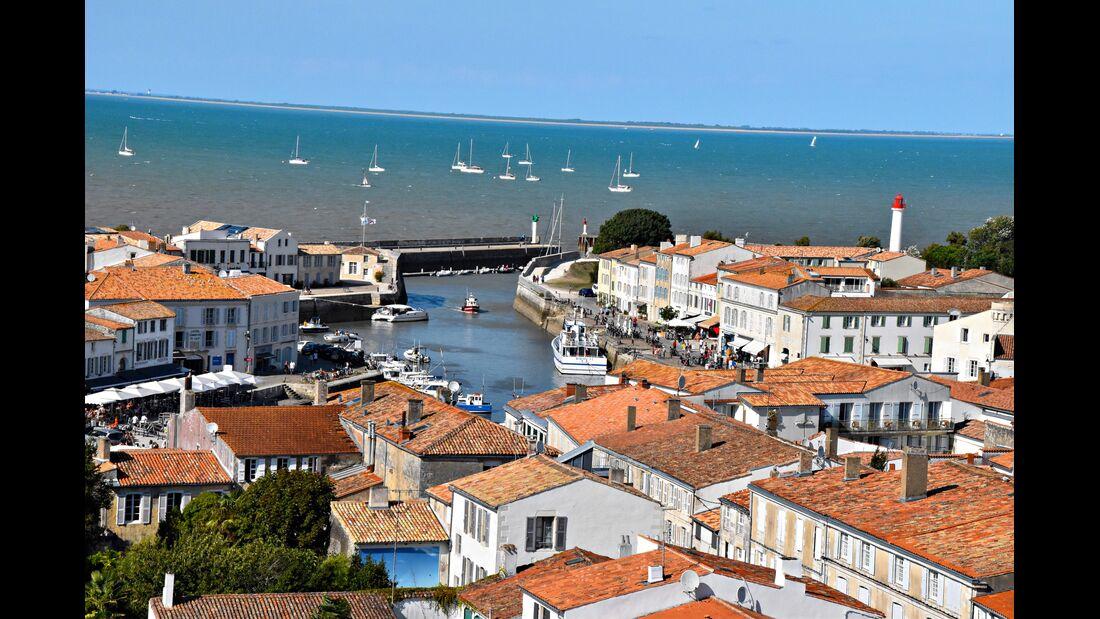 Hafen von Saint-Martin-de-Ré