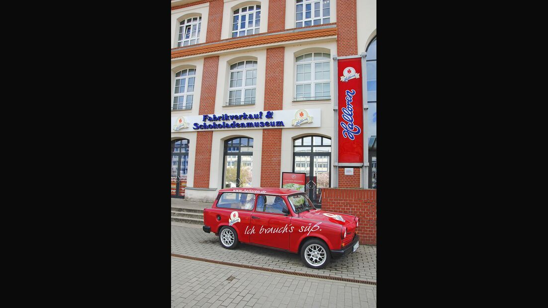 Halloren-Schokoladenmuseum  Trabbi