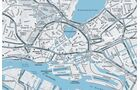 Hamburg, Karte