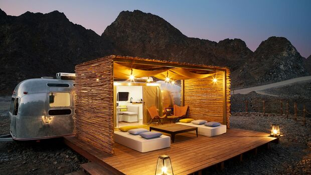 Hatta Sedr Trailers Resort