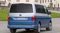 Heck beim VW T6 mit optionaler Zweifarbenlackierung