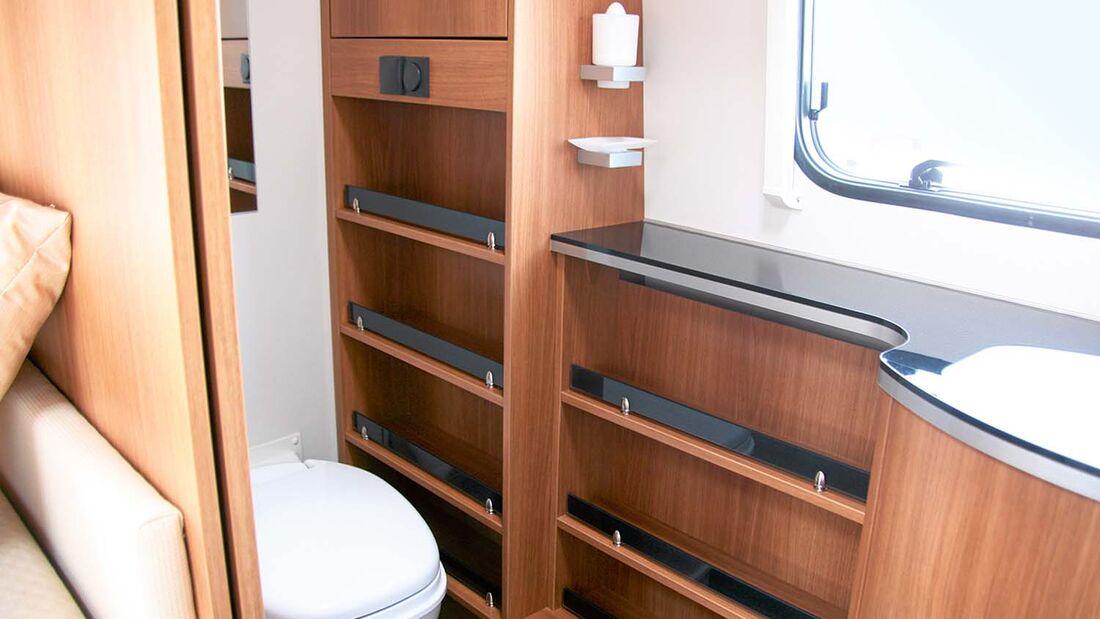 Caravans Mit Luxus Badezimmern Caravaning