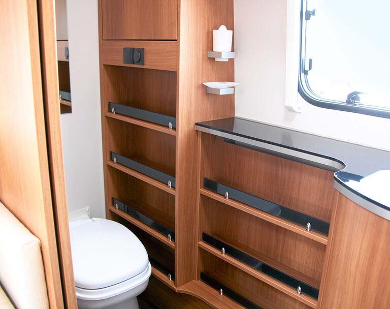 Caravans mit Luxus-Badezimmern - Caravaning