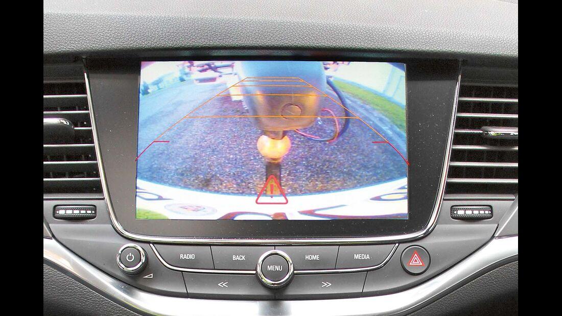 Heckkamera nicht weitwinklig beim Opel Astra