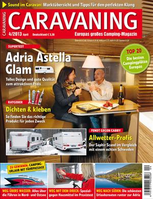 Heft Caravaning Ausgabe 10-2012