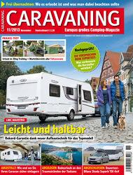 Heft Caravaning Ausgabe 10-2013