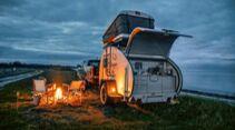 Hero-Camper Teardrop-Wohnwagen