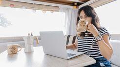 Home-Office, Camping, digitale Nomaden