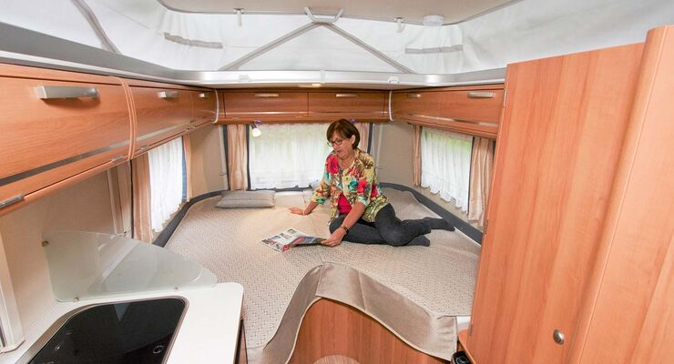 eriba touring troll 542 im test die caravaning wertung. Black Bedroom Furniture Sets. Home Design Ideas