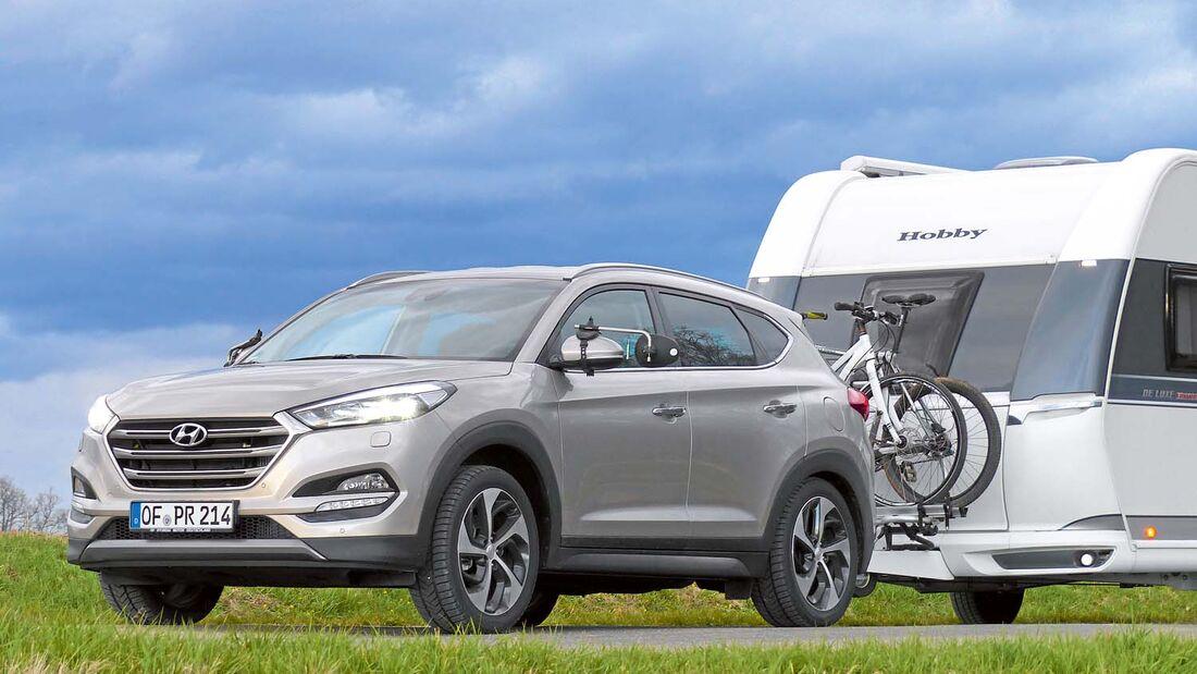 Hyundai Tucson 4WD im Zugwagen-Test