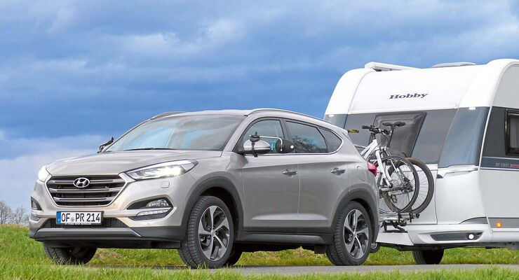 hyundai tucson 4wd im zugwagen test ab sofort mit gespann. Black Bedroom Furniture Sets. Home Design Ideas