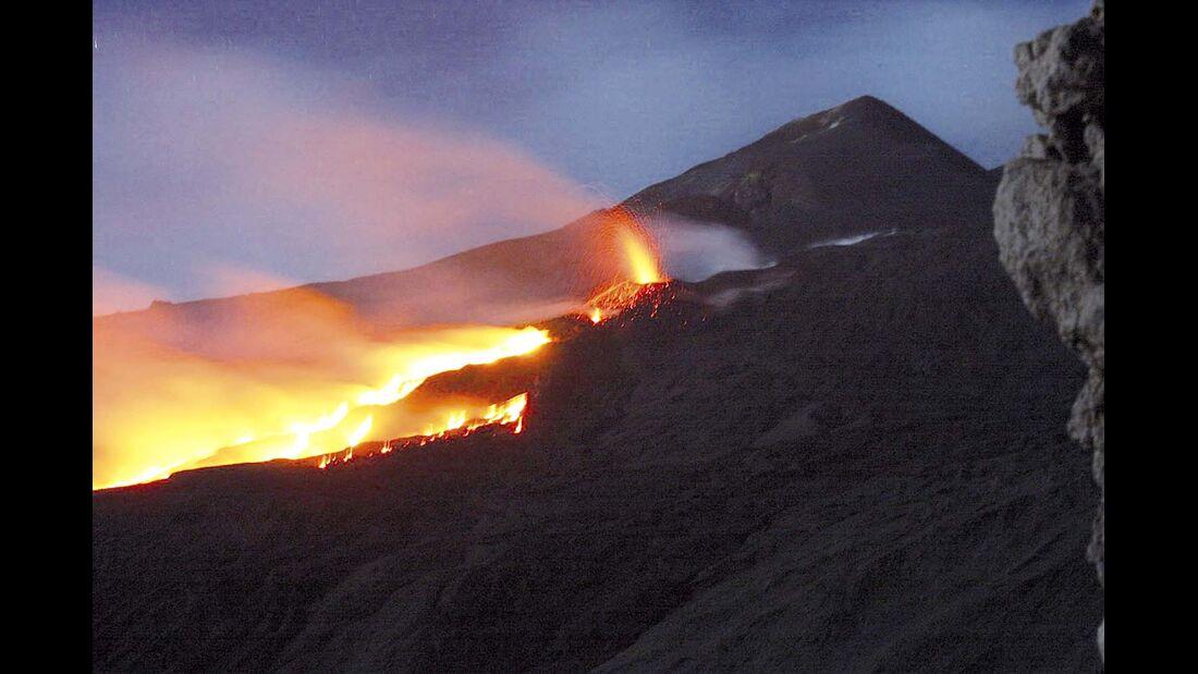 Im Dunstkreis des Mega-Vulkans Ätna gelegen.