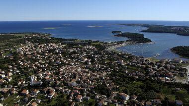 In der kroatischen Stadt Pula, gibt es Sonne, Sand und malerische Strände und gut erhaltene Ruinen aus der Römerzeit.