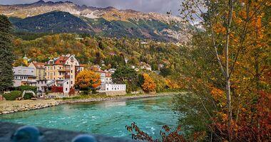Innsburck, Österreich, Herbst