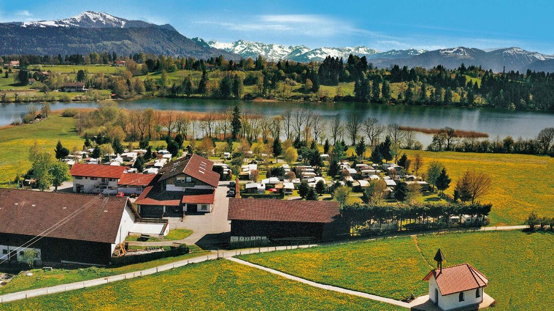 Insel-Camping am See