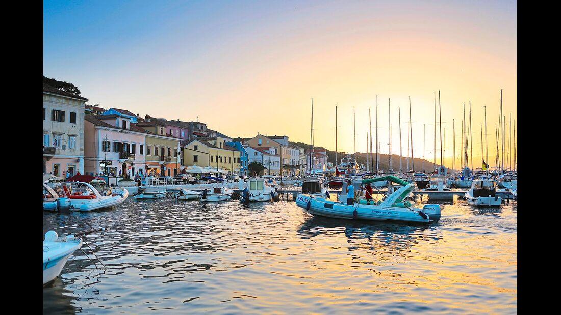 Insel Mali Losinj Kroatien