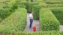 Irrgarten der Sinne Heckenlabyrinth