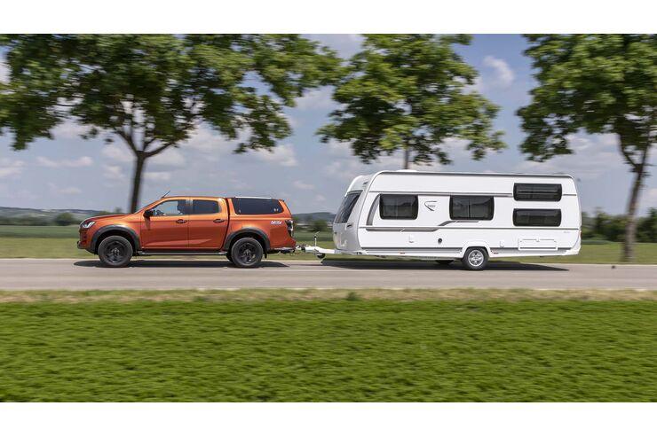 Isuzu D-Max im Zugwagentest: Bulliger Pick-Up mit komfortablem Fahrwerk