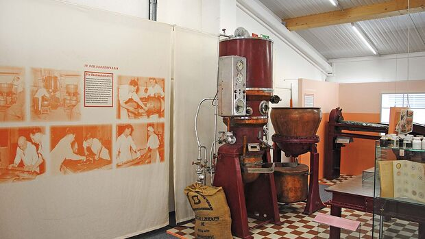 Jung-Bonbonfabrik Herstellung