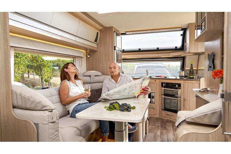 Kabe Imperial 780 TDL FK (2021) im Test: Hochpreisiger Luxus-Caravan für jede Jahreszeit