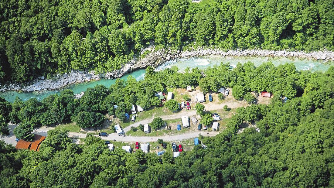 Kamp Koren in Slowenien
