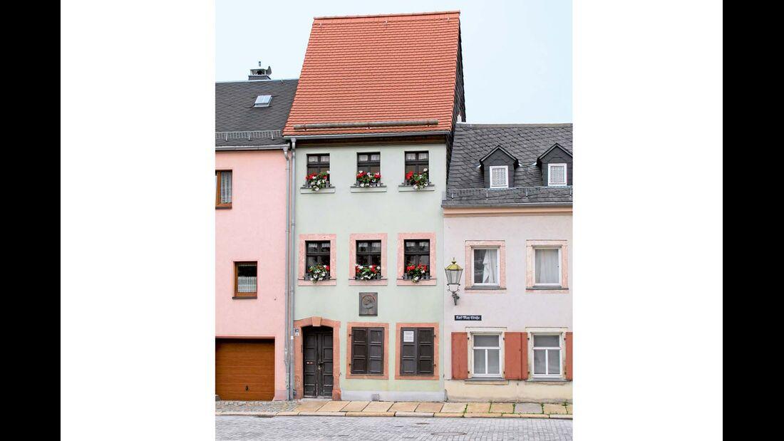 Karl May Geburtshaus in Hohenstein-Ernstthal