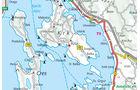 Karte Krk