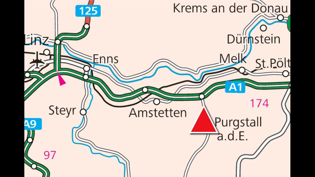 Karte, Purgstall