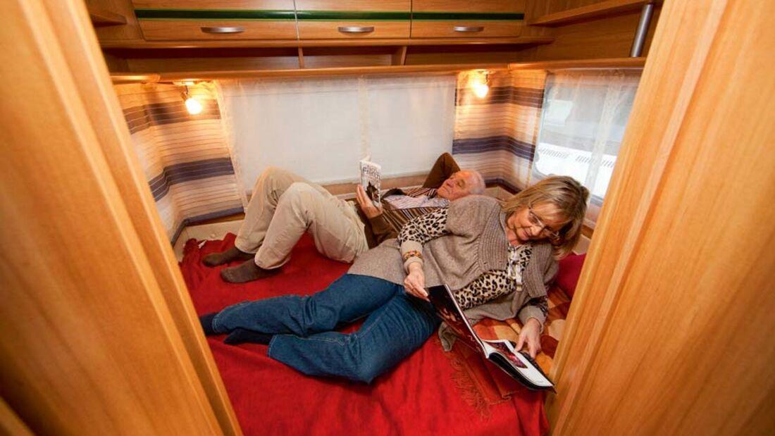 Kauf-Tipp: Querbett-Caravans