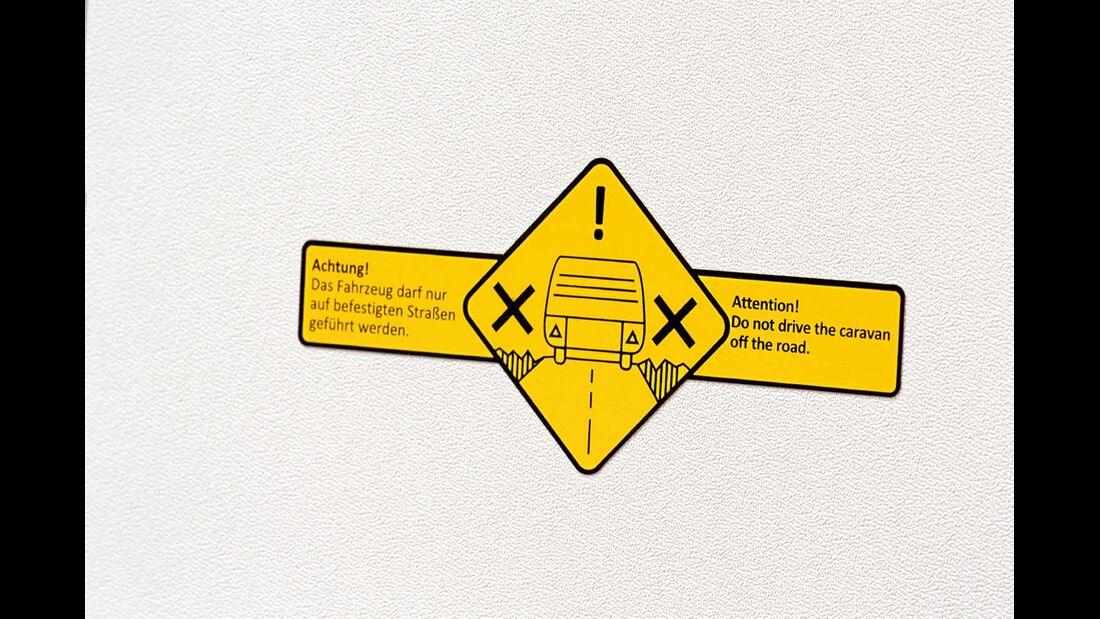 Kein Offroad-Einsatz mit dem T@b 320 RS Offroad
