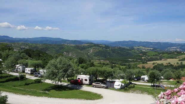 Kinderfreier Campingplatz Camping Perticara