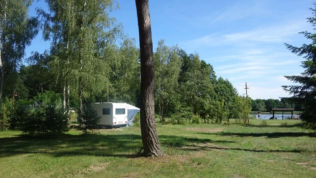 Kinderfreier Campingplatz am großen Wentowsee