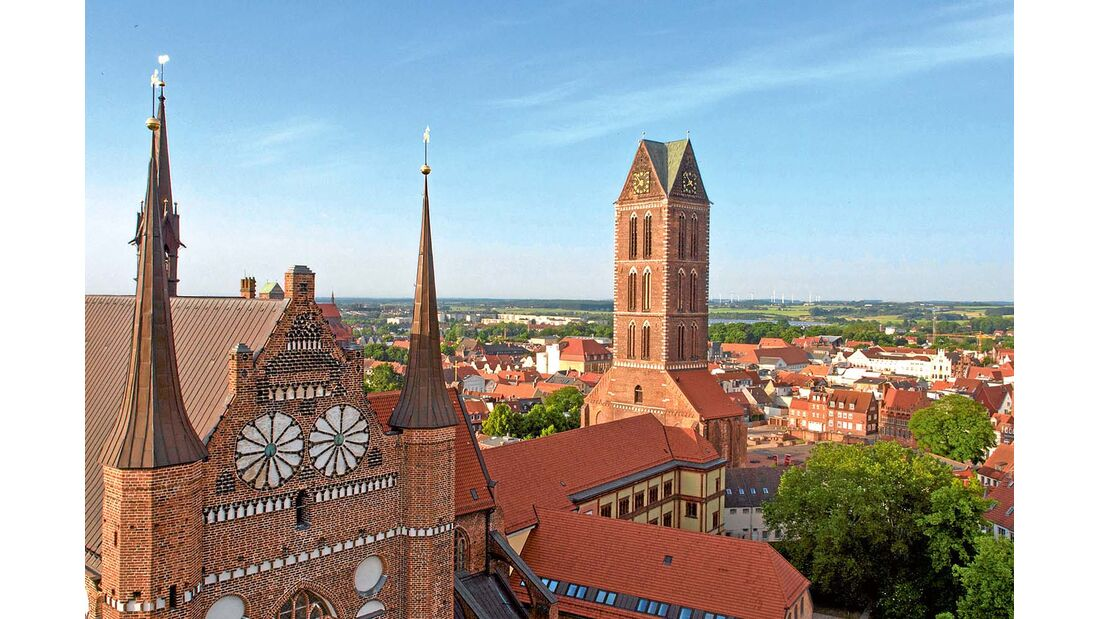 Kirchtürme Wismar