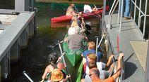 Kleine und große Touren mit eigenen und gemieteten Booten.