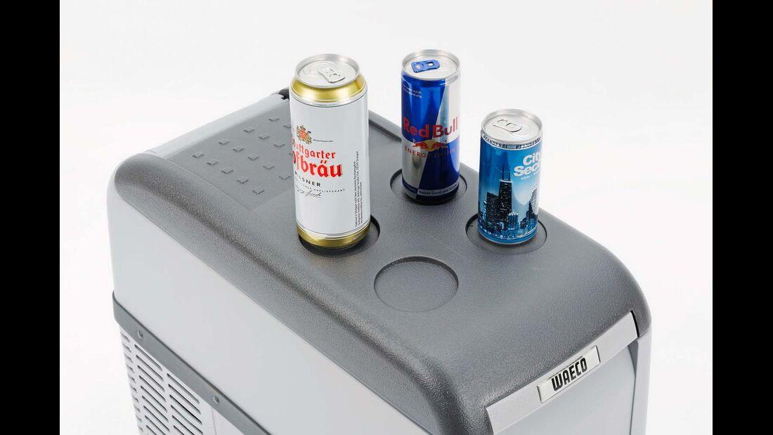 Kompressor-Kühlbox Waeco Dosenhalter