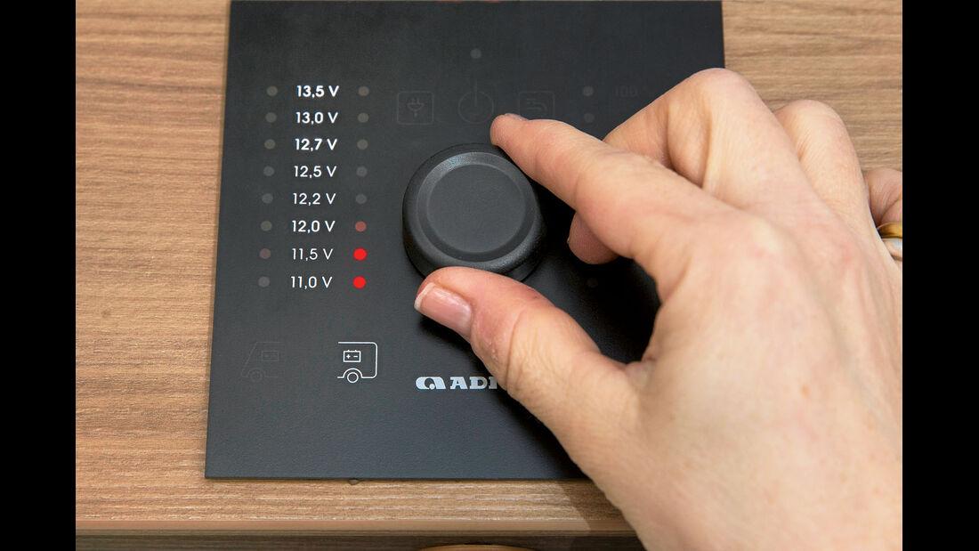Kontrollbord mit leicht verstaendlichem Layout.