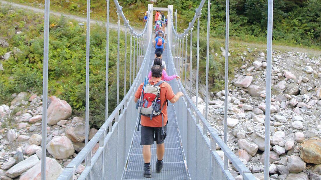 Kräuter sammeln Obersulzbachtal