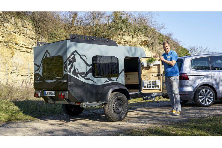Kuckoo Camper Bruno (2021): Nachhaltiger Minicaravan als Pandemie-Idee