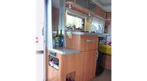 Küche im Eriba Feeling