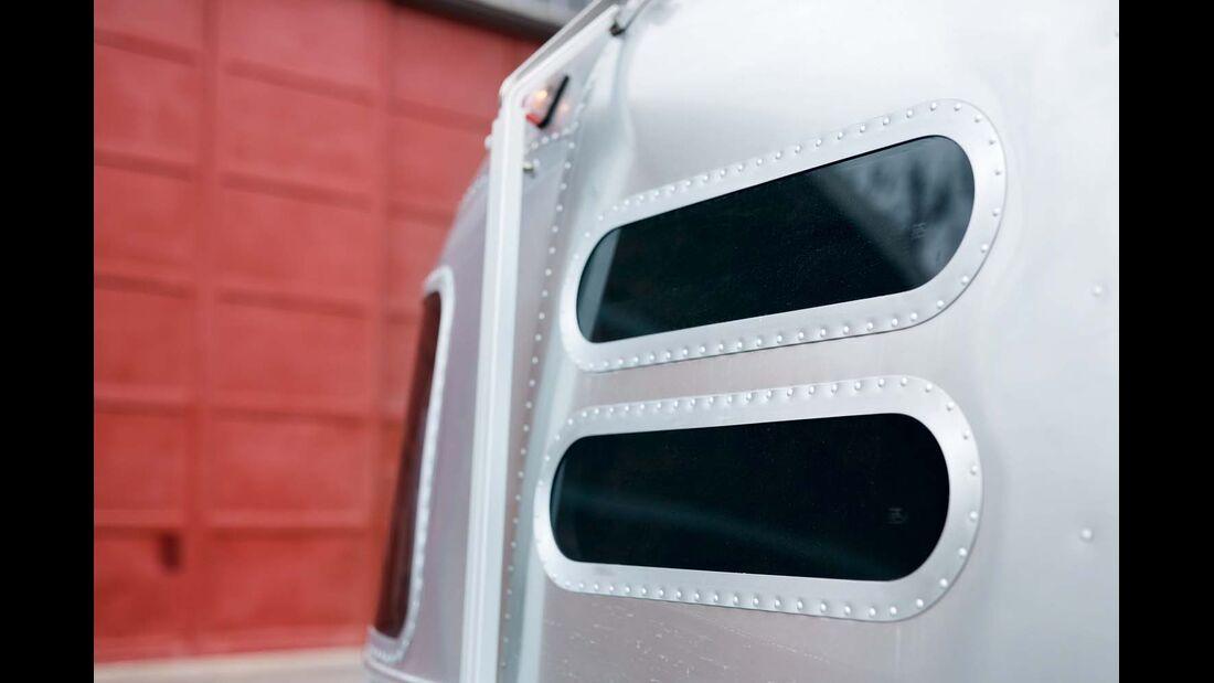 Küchenfenster ohne Lüftmöglichkeit im Airstream 684