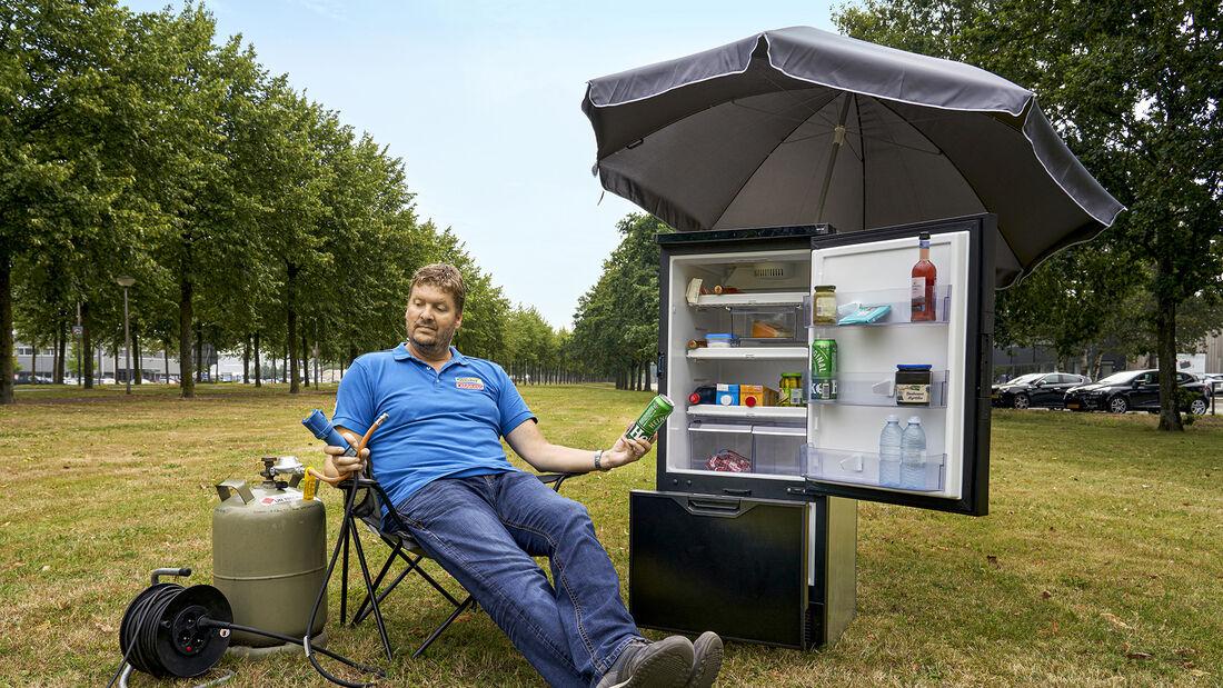 Kühlschrank-Test