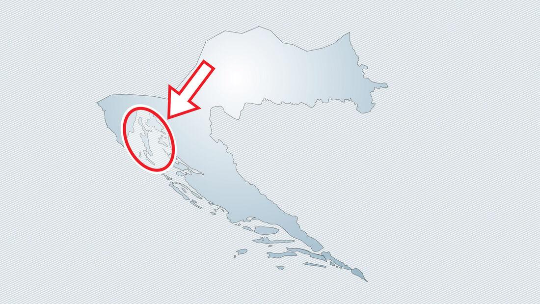 Kvarner-Bucht, Kroatien