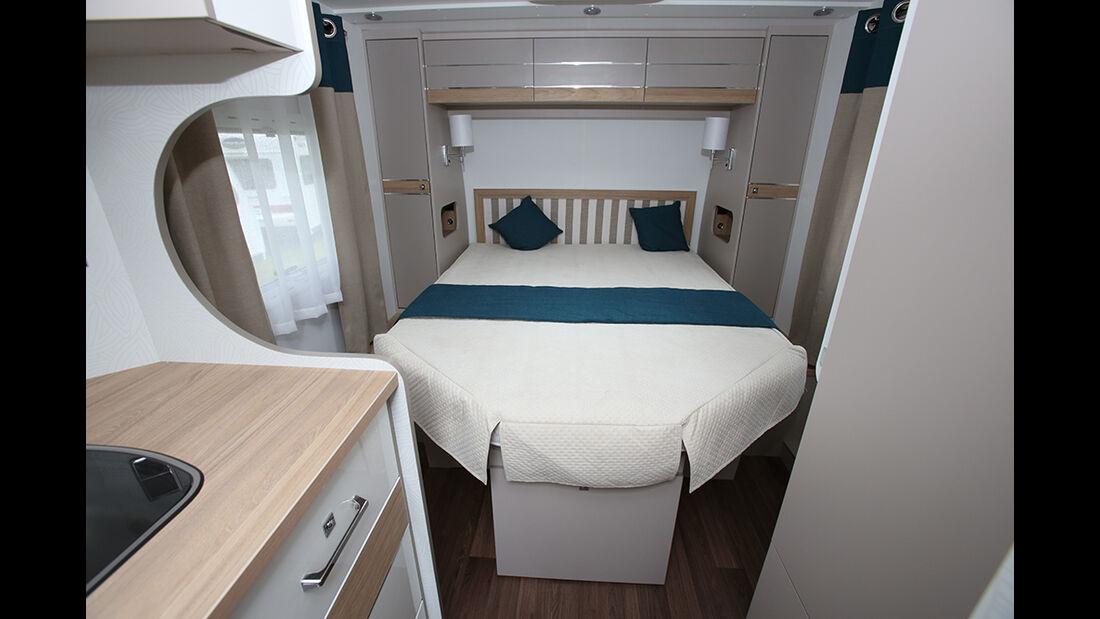 La Mancelle Wohnwagen Bett