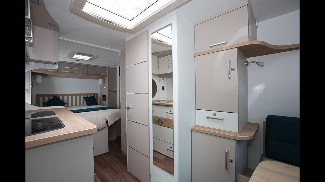 La Mancelle Wohnwagen Innenraum