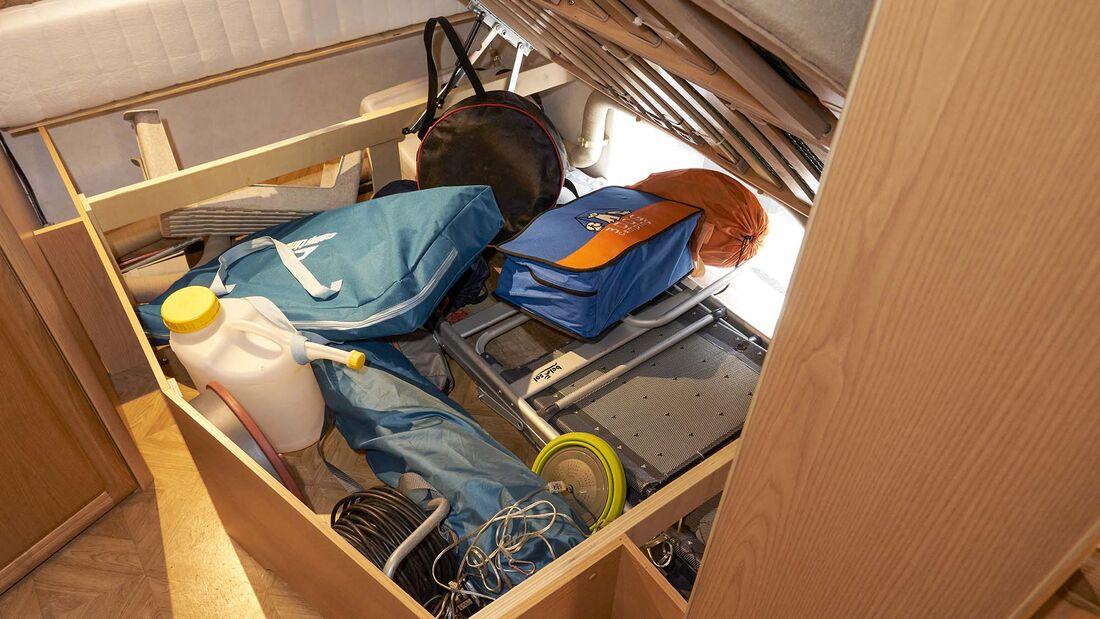 Ladungssicherung Caravan