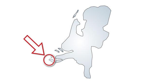 Lage Camping Janse in den Niederlanden