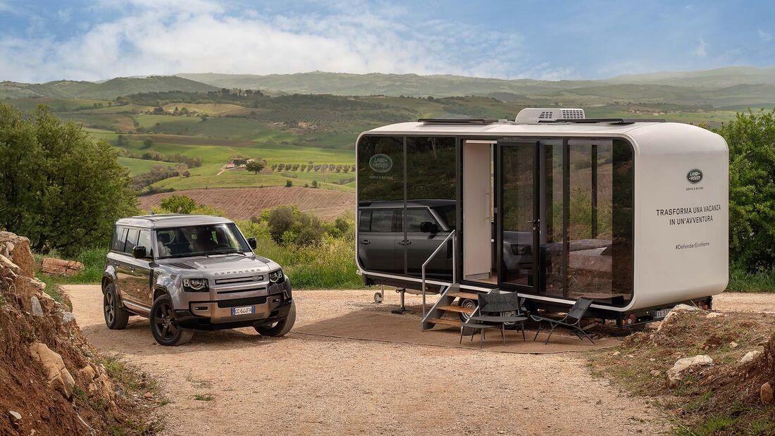 Land Rover Defender Eco Home (2021)