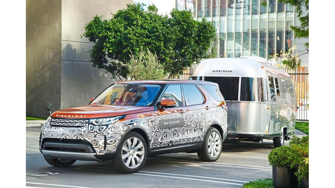 Land Rover Discovery als Vollprofi